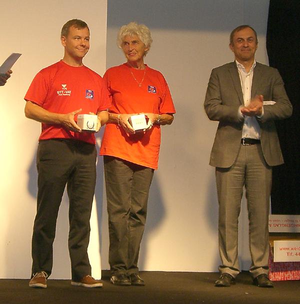 Poul Danborg og Elsemarie Hjortkjær modtager priser fra Taastrup Kommune 2013