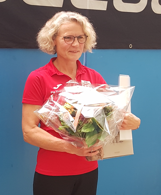 Pia Thulstrup modtog                                               �rets MastersPris 2018