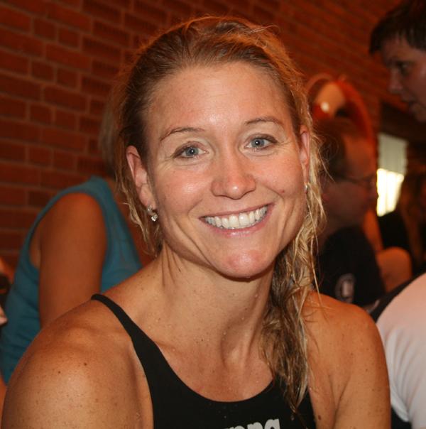 Merete Løvberg                                               satte Europæisk rekord i                                               400 fri ved Norske Masters                                               2016