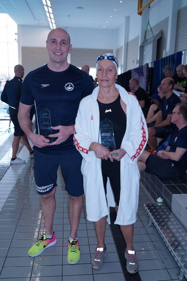 Årets masterssvømmere                                               i Sverige 2016