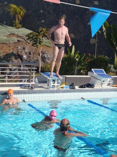Anders Kilen på Tenerife