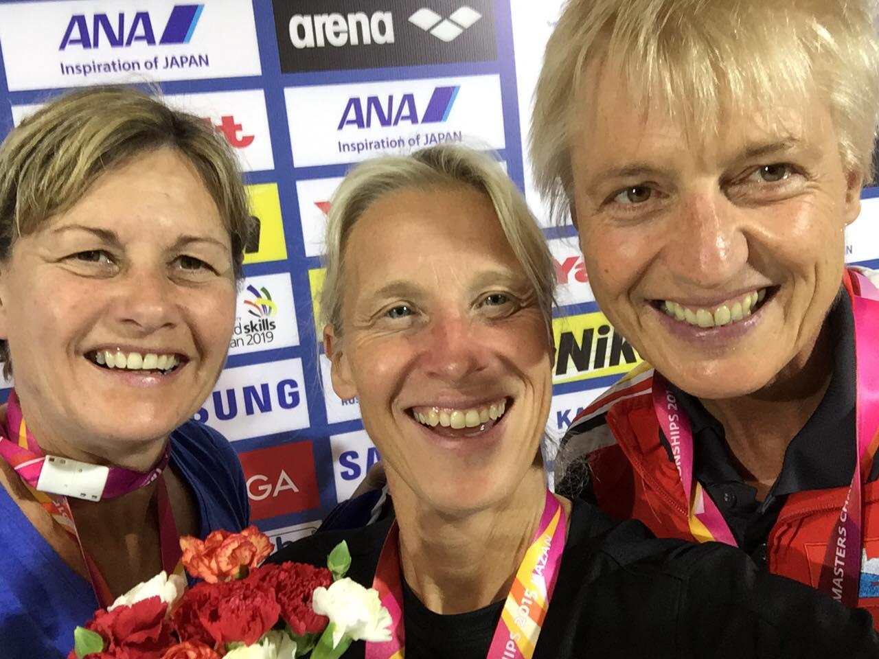 Anette Philipsson                                               vandt 100 m fri ved VM i                                               Kazan