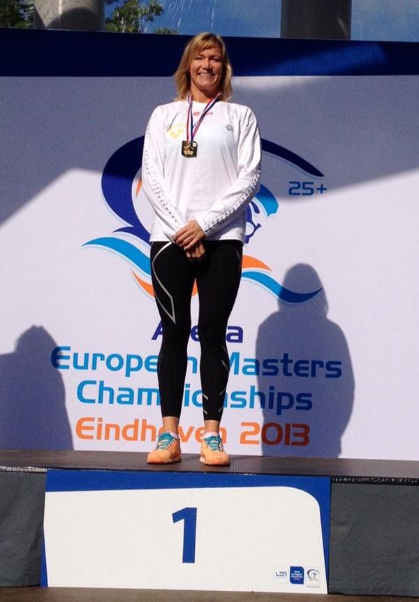 Anna Hammar                                                         - EM-guld i                                                         Eindhoven 2013