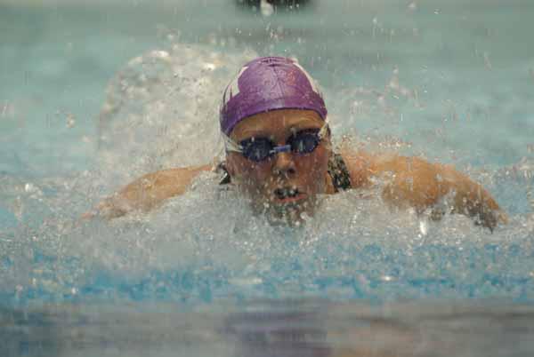 Anna Lohmann - ny europarekord i 50 m butterfly