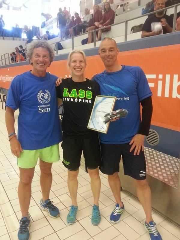 Anette Philipssson                                               fik årets Glen                                               Christiansen & Svenska                                               Simförbundts Stipendium                                               2016