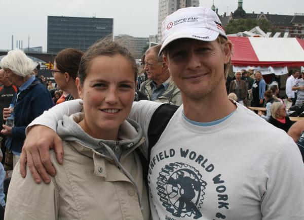 USG's Pimmie Oesten og Peter Schultz