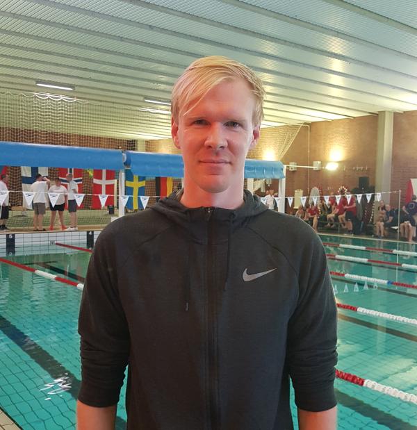 Jakob Andkjær ved                                               årets Copenhagen Open                                               Masters 2019 i Kastrup
