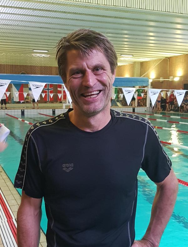 Søren Østberg ved                                               årets Copenhagen Open                                               Masters 2019 i Kastrup
