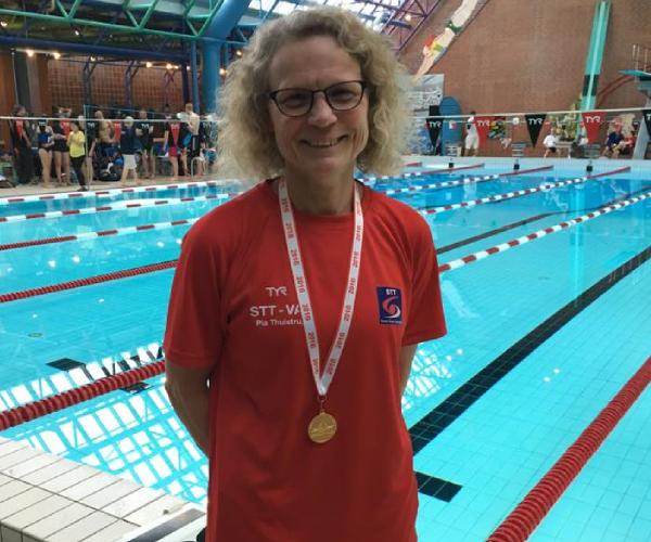 Pia Thulstrup                                               satte Europarekord ved                                               DOM-K 2016 i Glostrup