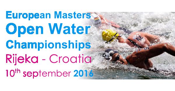 European                                               Masters Open Water                                               Championships 2015 Rijeka                                               Croatia
