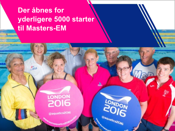 European Masters                                               Championshiops 2016 -                                               London