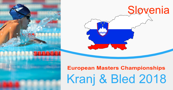 European Masters                                               Swimming Championships                                               2018 goes to Slovenia