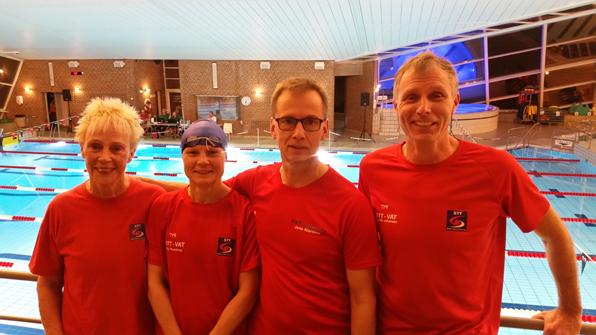 STT sætter nye                                               europæiske rekord i 4x50                                               HM: På holdet Pia                                               Thulstrup, Elisabeth                                               Ketelsen, Jens Klarskov og                                               Dan Ole Johansen