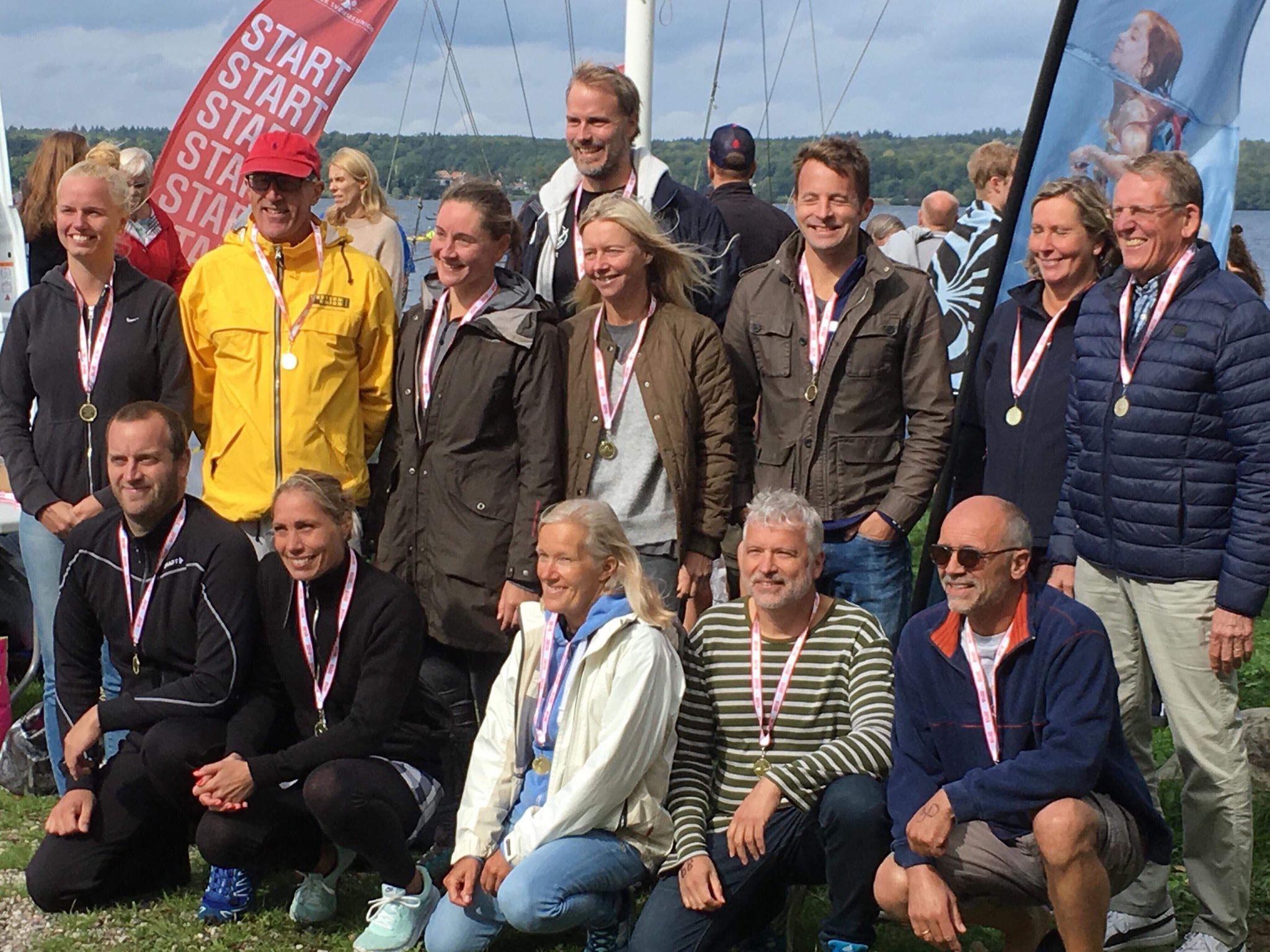 Resultter �stdanske                                               og Vestdanske Open Water                                               mesterskaber for masters                                               2018