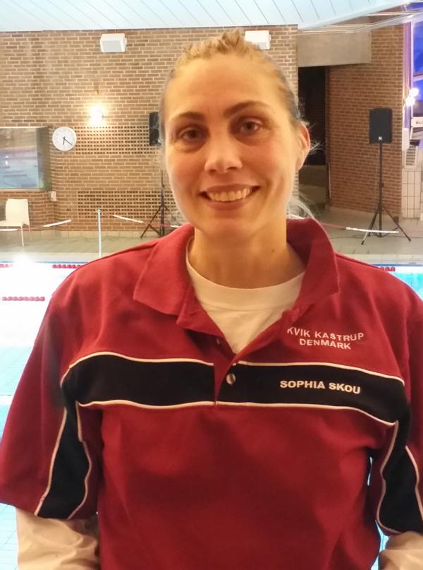 KVIK Kastrups                                               Sophia Skou satte                                               Europarekord i 200 m                                               butterfly