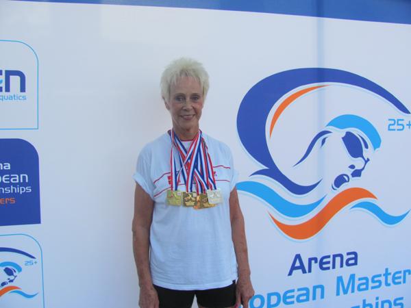 Elisabeth Ketelsen sætter endnu en Europarekord ved EM i Eindvhoven