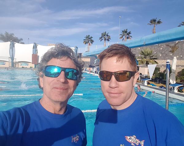 Glen Christiansen og                                               Anders Kilen på T3