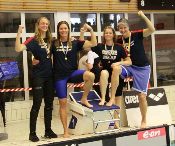 Helsingborg                                               tøserne sætter WR i                                               Filborna Arena ved                                               Masters-SM 2016