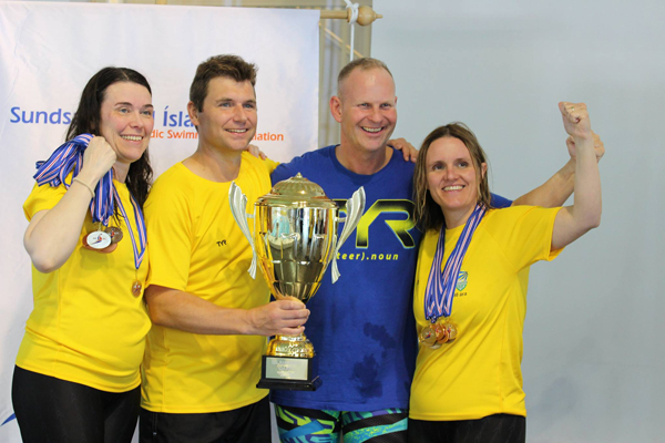 Ægir vandt pokalen                                               for bedste mastershold ved                                               IMOC 2017