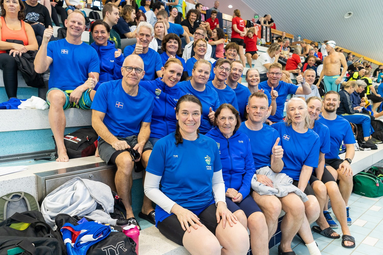 Icelandic Team at                                               Nordic Open Masters                                               Championships 2019 i                                               Vantaa