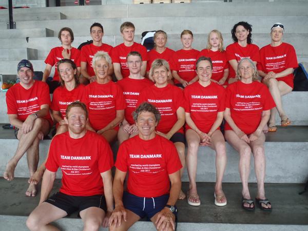 International Masters Swim Camp 2011 in Copenhagen