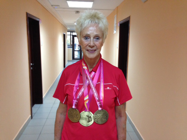 World Masters                                               Championships in swimming                                               in Kazan