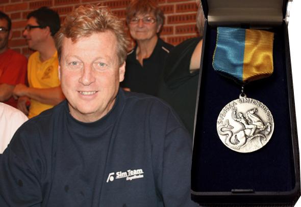 Kent Hamberg får fortjänstmedalj