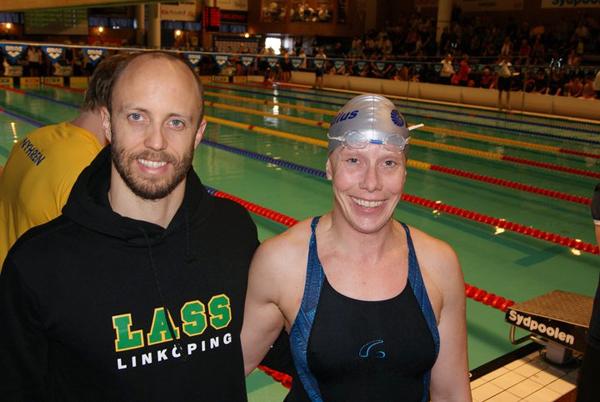 Lars Frölander och Marika Johansson