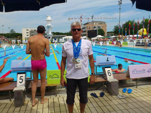 Leonard Bielicz - Europarekord ved VM i Riccione