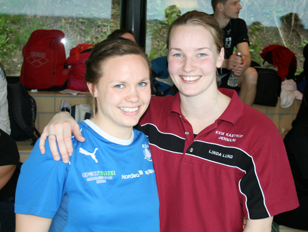 Sabrina Wielsøe og Linda Lund