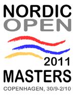 Logo Nordic Open Masters 2011