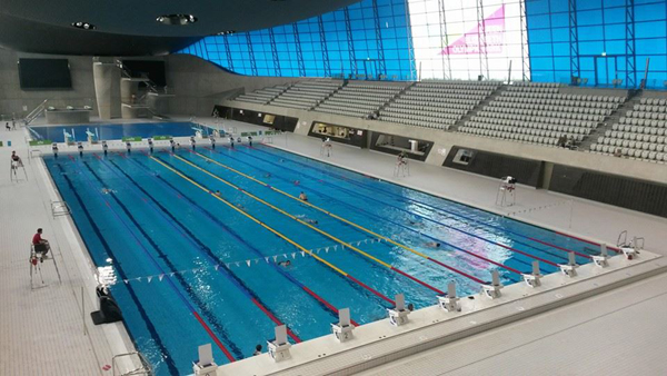 London                                                         Aquatic Centre -                                                         European Masters                                                         Championships                                                         2016