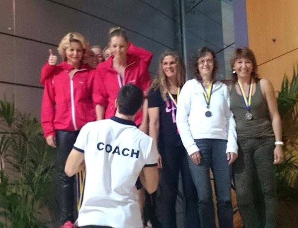 Næstvedpigerne vandt                                               4 x 50 Holdmedley                                               (AK160-199)