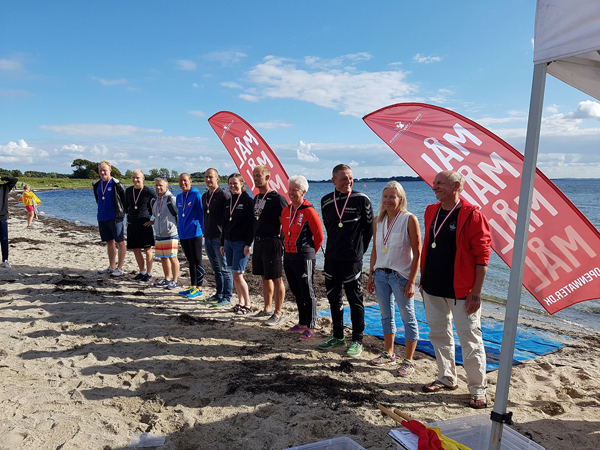 Vinderne ved Nordic                                               Open Water Masters                                               Swimming Championships