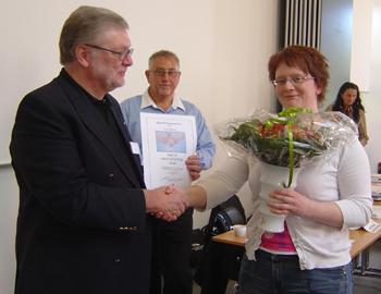 Alex                                               Nielsen får Årets                                               Masterspris 2009