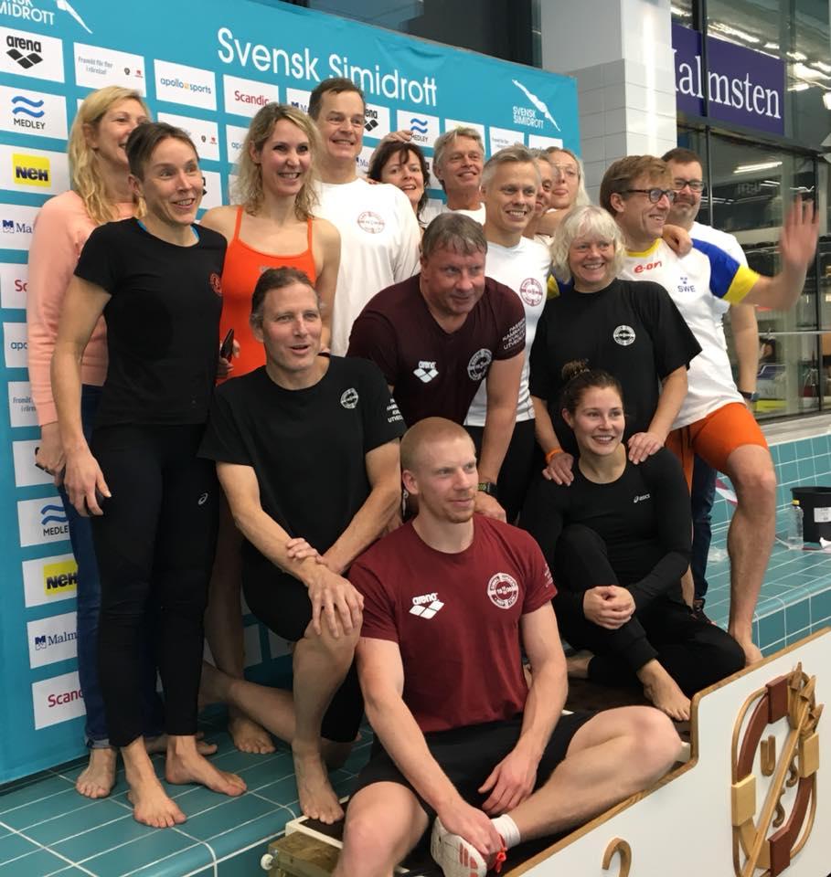 Neptun bedste klub                                               ved Masters-SM 2017 i                                               Umeå