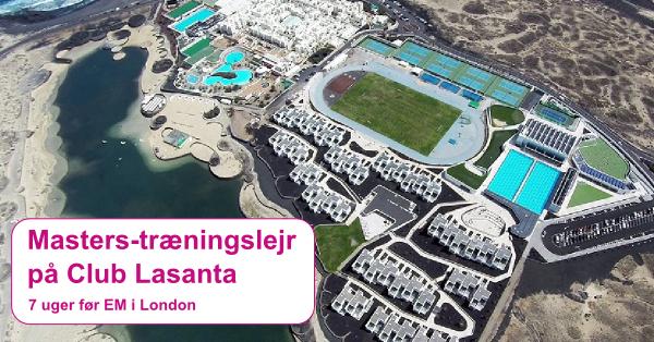 Masterstræninglejr                                               på Club Lasanta 2016