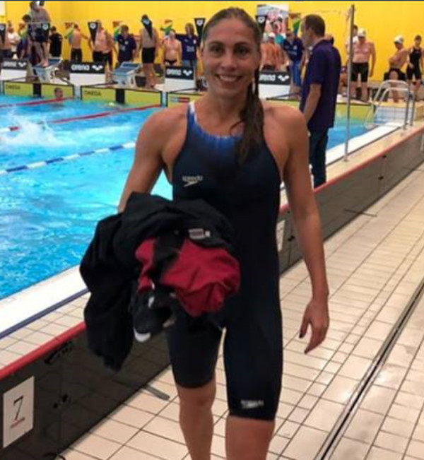 Sophia Skou, KVIK,                                               s�tter ny Europarekord i                                               Malm�