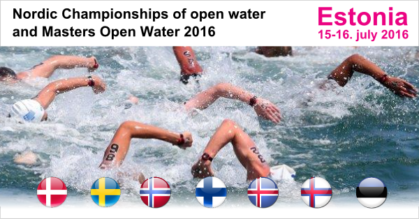Nordic Open Water                                               Championships 2016 -                                               Estonia