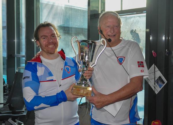 Bedstepokalen ved                                               NOM-2018 i Alta