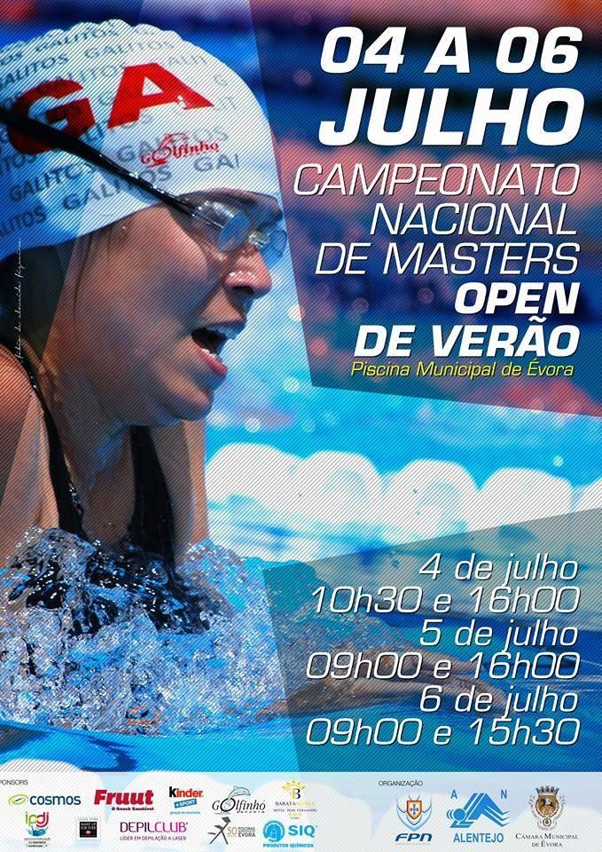 XVI                                               Campeonato Nacional                                               Masters de Verão