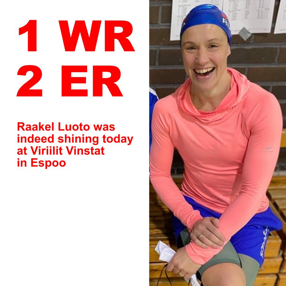 Luoto satte                                               verdensrekord