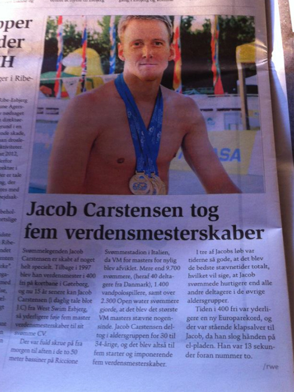 Jacob Carstensen - West Swim Esbjerg
