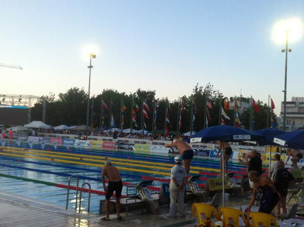 Riccione Swimming Stadium ByNight