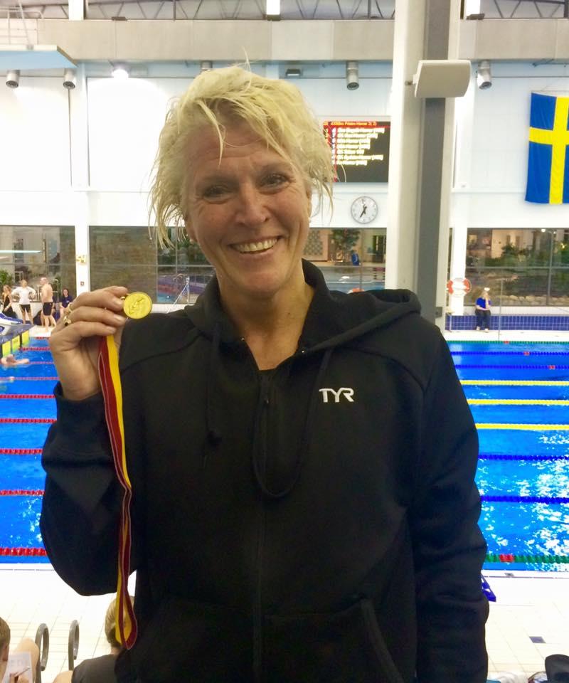 Caroline Lindborg                                               sætter ER ved Skånska                                               Masters Mesterskaber i                                               Lund
