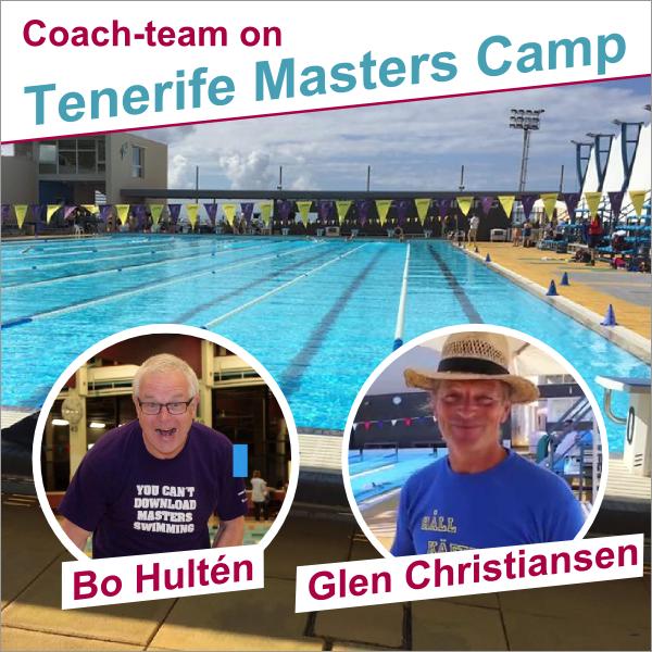 Bo Hultén og Glen                                               Christiansen coacher på T3                                               på Teneriffe