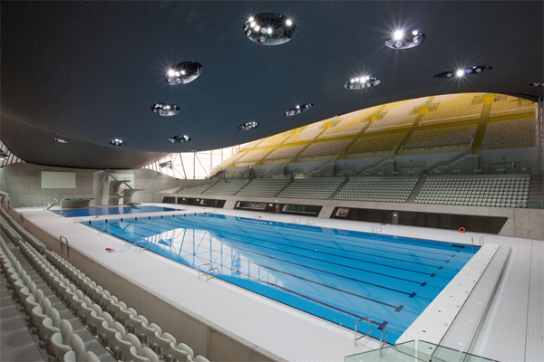The Olympic Pool in London host EMC 2016