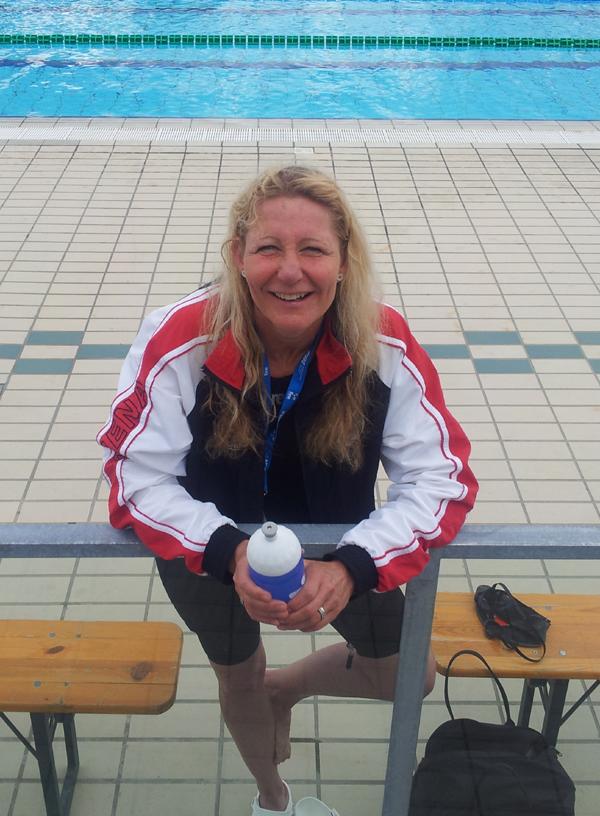 Tine Carstensen, Næstved, satte nordisk rekord i 100 fri
