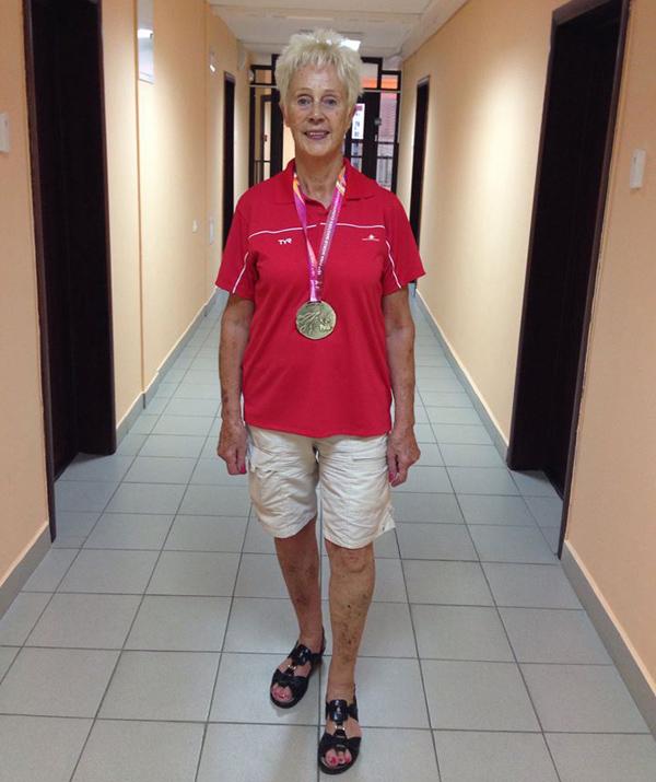 Elisabeth Ketelsen                                               - Vandt første VM-guld i                                               Kazan