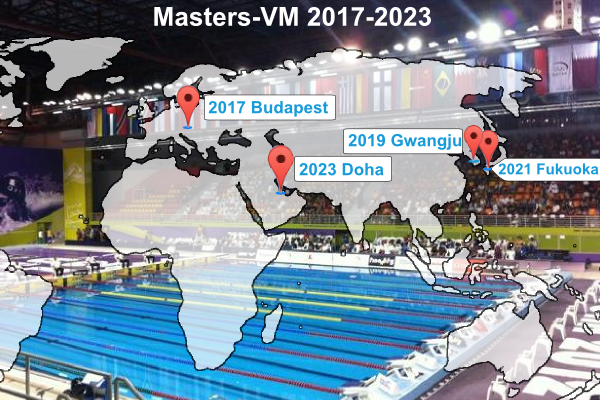 World Masters                                               Swimming Championships                                               2017-23